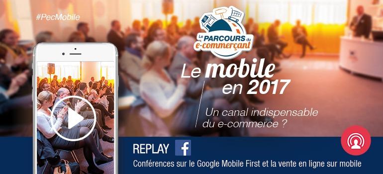 #PecMobile M-commerce : 5 points clés pour augmenter vos ventes sur mobile