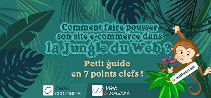 [Infographie] Comment faire pousser son site e-commerce dans la jungle du web ?