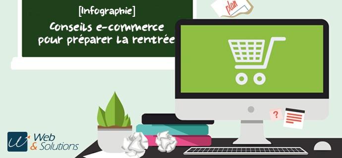 [INFOGRAPHIE] 10 actions e-commerce à appliquer avant la rentrée