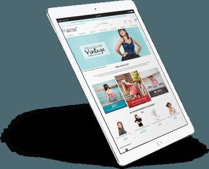 iPad site ecommerce sur Ipad