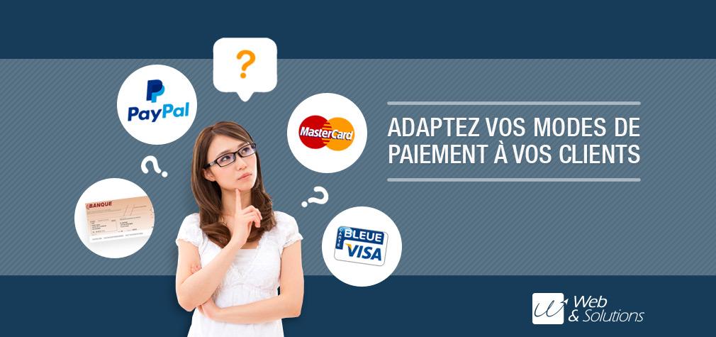 Quels modes de paiement proposer pour vendre en ligne ?