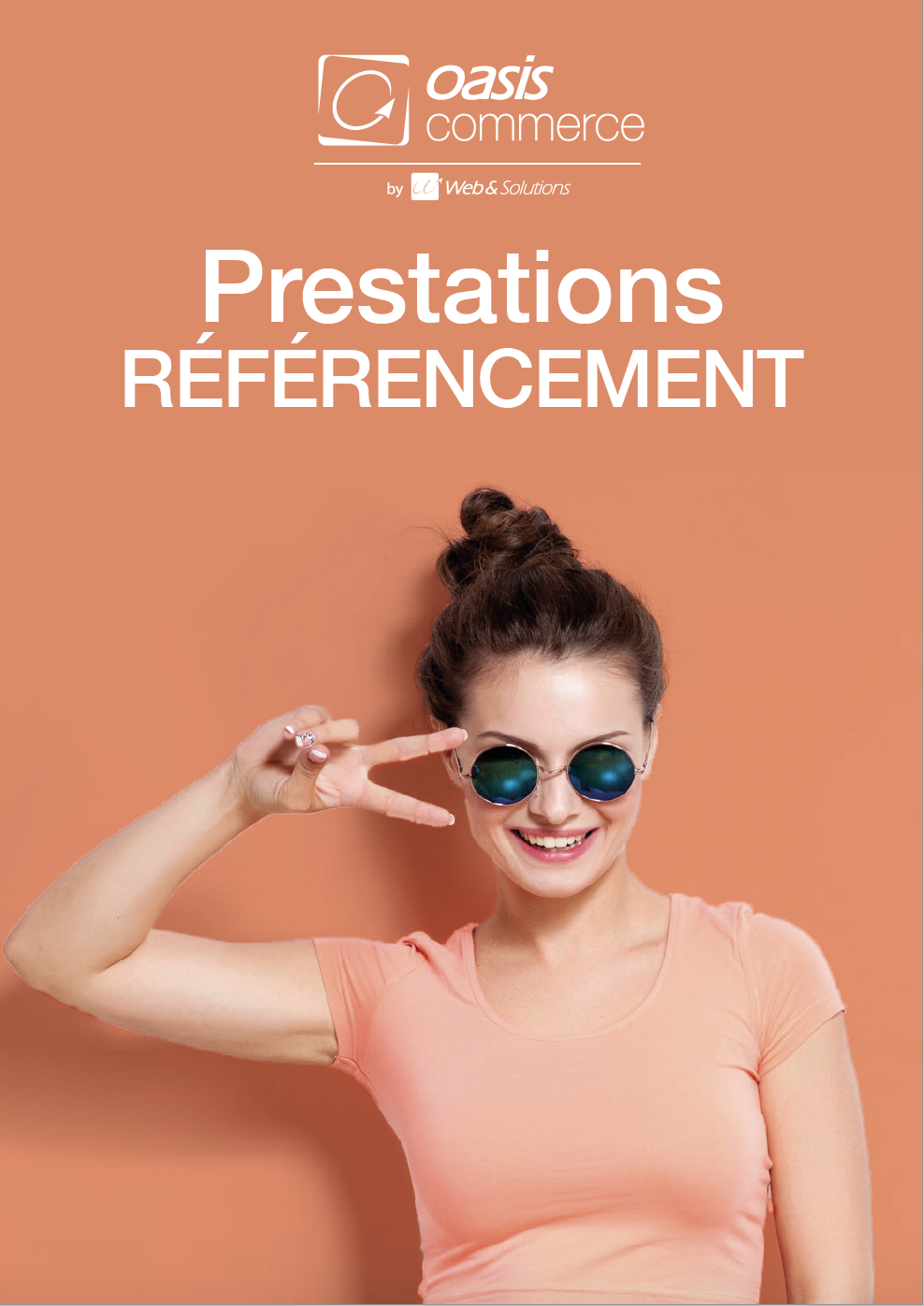 Plaquette de nos prestations de référencement OASIS Commerce